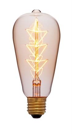 Лампа прозрачная ST64 F10, Sun-lumen 053-556