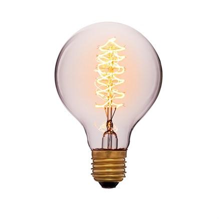 Лампа тонированная G80 F5 60Вт, Sun-lumen 053-525