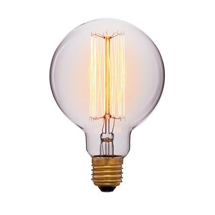 Лампа тонированная G95 F2 40Вт
