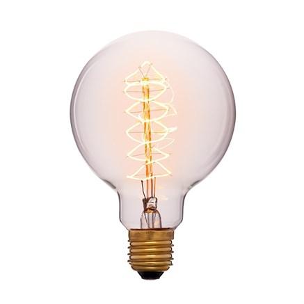 Лампа тонированная G95 F5 40Вт, Sun-lumen 052-009