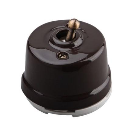 Выключатель тумблерный, проходной Salvador OP41BR