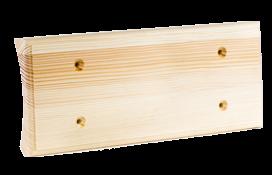 Универсальная накладка на бревно для 3-х механизмов Сосна naBrevno