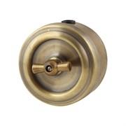 Выключатель ретро, бронза, VINTAGE Metal, М1-11-21