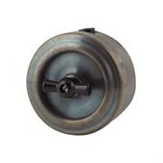Выключатель ретро, патинированный, VINTAGE Metal, М1-11-27