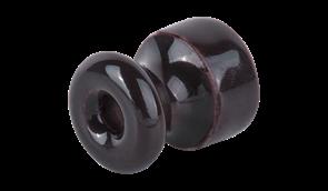 WL18-17-01/ Изолятор 10 шт.(коричневый) Ретро