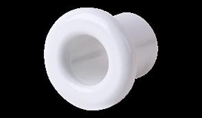 WL18-18-01/ Втулка пластиковая для вывода кабеля из стены 2 шт. (белый) Ретро