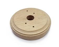 Накладка на бревно для распред. коробки, Бук натуральный Lindas 25860