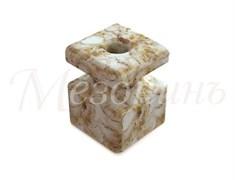 Изолятор фарфоровый квадратный Мрамор Мезонин GE80025-19