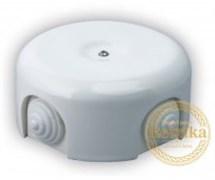 Распаячная коробка Белая D-90 Retrika RR-09001