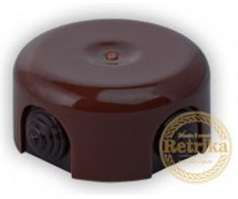 Распаячная коробка Коричневая D-90 Retrika RR-09003