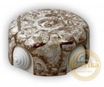 Распаячная коробка Мрамор D-90 Retrika RR-09006