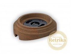 "Рамка на бревно одинарная ""Старое дерево"" Retrika RD-01221"