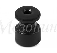 Изолятор фарфоровый Черный Мезонин GE70025-05