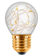 Лампа светодиодная для гирлянды, желтый свет, Sun-Lumen 057-219