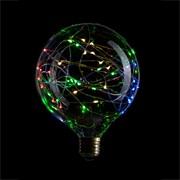 Светодиодная ретро лампочка G125, Sun-Lumen 057-059