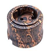 Розетка ретро пластиковая Античная медь Bironi B1-101-15