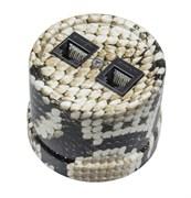 Розетка пластиковая ретро телефон/компьютер, Королевская кобра, Bironi B1-303-12