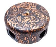 Распределительная коробка пластиковая 110 мм , Античная медь, Bironi B1-522-15