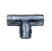 """Тройник пластиковый для труб d-16 мм. """"Серебряный век"""" Bironi BTT1-16-11"""