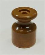 Ретро изолятор керамический, Какао