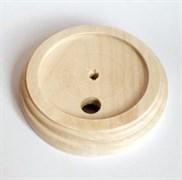 Подложка 1-местн. деревянная ретро без отделки KERUDA