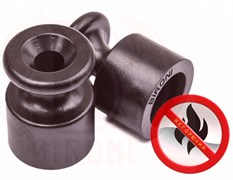 Изолятор пластиковый ретро Коричневый Bironi B1-551-22
