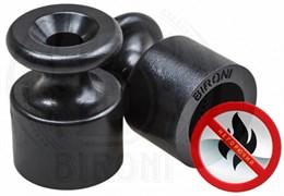 Изолятор пластиковый ретро Черный Bironi B1-551-23