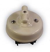 Механизм выключателя керамический ретро Слоновая кость Retrika R1-SW-15