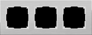 Рамка на 3 поста (алюминий) WL11-Frame-03