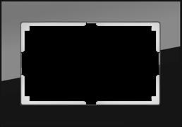 Рамка для двойной розетки (черный) WL01-Frame-01-DBL