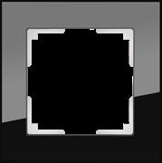 Рамка на 1 пост (черный) WL01-Frame-01