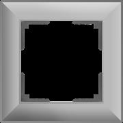 Рамка на 1 пост (серебряный) WL14-Frame-01