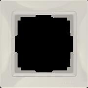 Рамка на 1 пост (слоновая кость, basic) WL03-Frame-01