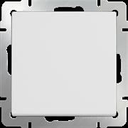 Выключатель одноклавишный проходной (белый) WL01-SW-1G-2W