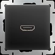 Розетка HDMI (черный матовый) WL08-60-11