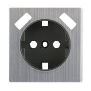 Накладка для USB розетки (глянцевый никель) WL02-USB-CP