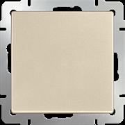 Выключатель одноклавишный (шампань) WL11-SW-1G