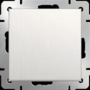 Выключатель одноклавишный (перламутровый рифленый) WL13-SW-1G