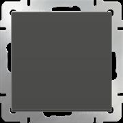 Перекрестный переключатель одноклавишный  (серо-коричневый) WL07-SW-1G-C