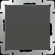 Выключатель одноклавишный  (серо-коричневый) WL07-SW-1G