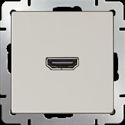 Розетка HDMI (слоновая кость) WL03-60-11