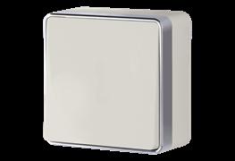 Выключатель одноклавишный проходной Gallant (слоновая кость) WL15-01-03