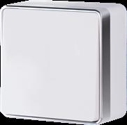 Выключатель одноклавишный Gallant (белый) WL15-01-01