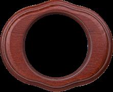 Рамка на 1 пост (итальянский орех) WL20-frame-01