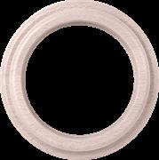 Рамка на 1 пост (беленый дуб) WL15-frame-01