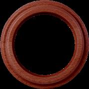 Рамка на 1 пост (итальянский орех) WL15-frame-01