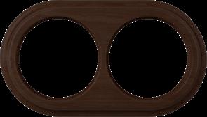 Рамка на 2 поста (венге) WL15-frame-02