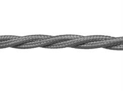 Витой ретро провод Серый Retrika RP-21508с