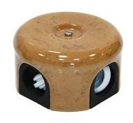 Распределительная коробка ретро, керамическая  Капучино Lindas 33030