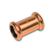 Муфта соединительная для труб 15-22 мм. Медь, Retrika RMF-18M